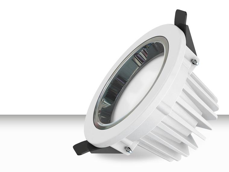 Brightfit LED downlight verdiept design gatmaat 205mm