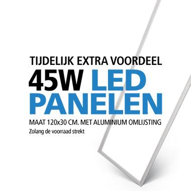 aanbieding LED paneel aluminium lijst